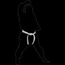 Karate-block icon
