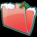Folder-Snow icon