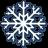 White-snow icon