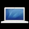 Macbook-white icon