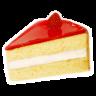 Strawberry-cake icon