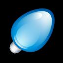 Christmas-Light-Blue icon