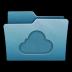 Folder-Cloud icon