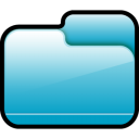Folder-Closed-Blue icon