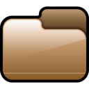 Folder-Closed-Brown icon