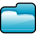 Folder-Open-Blue icon