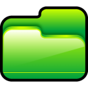 Folder-Open-Green icon