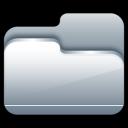 Folder-Open-Silver icon