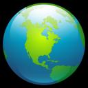 Globe-2 icon