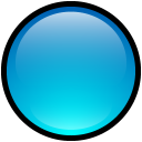 Button-Blank-Blue icon