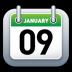 Calendar-Green icon