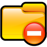 Folder-Delete icon