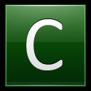 Letter-C-dg icon