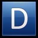 Letter-D-blue icon