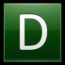 Letter-D-dg icon