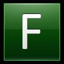 Letter-F-dg icon