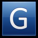 Letter-G-blue icon