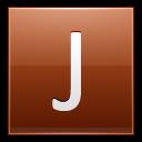 Letter-J-orange icon