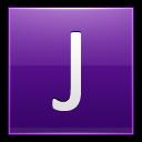 Letter-J-violet icon