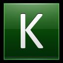 Letter-K-dg icon