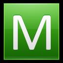 Letter-M-lg icon