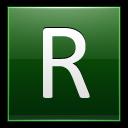 Letter-R-dg icon