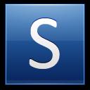 Letter-S-blue icon