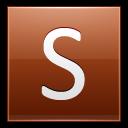 Letter-S-orange icon