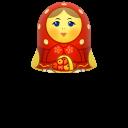 Red-matreshka-upper-part icon
