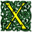 Letter-x icon