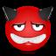 Devil-sad icon