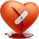 Heart-broken icon