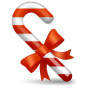 Candy-cane icon