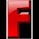 Letter-f icon