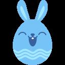 Blue-happy icon