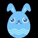 Blue-sad icon