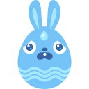 Blue-scared icon