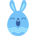 Blue-sleepy icon