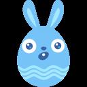 Blue-surprised icon