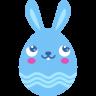 Blue-blush icon
