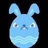 Blue-crabby icon