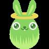 Green-angel icon