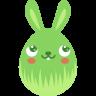 Green-blush icon