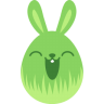 Green-happy icon