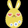 Yellow-love icon