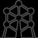 Brussels-atomium icon