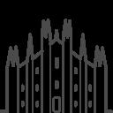 Milan-duomo icon