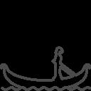 Venice-gondola icon
