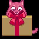 Cat-gift icon