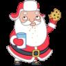 Santa-cookies icon